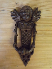 Ecclesiastical Style Angel Door Knocker