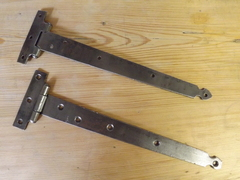 Vintage &quot;T&quot; Hinges Fully Restored