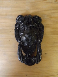 Cast Iron Lion Door Knocker