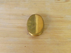 Brass Yale Cylinder Keep