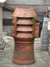 Leeds Three Bowl Chimney Pot