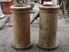 Pair Of Cannon Chimney Pots