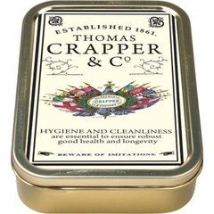 Thomas Crapper Tin