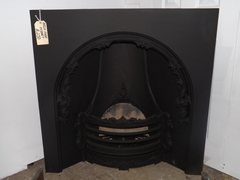 Ornate arch fire insert