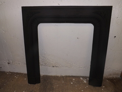 Restored fire surround (no tiles)