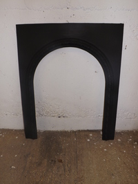 Victorian arch cast iron fire surround