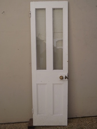 Victorian four panel glazed door