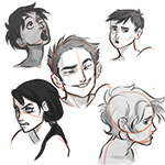 Comic Faces & Expressions