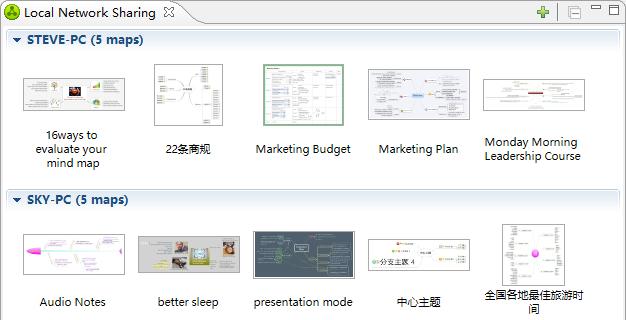 xmind new version, Presentation