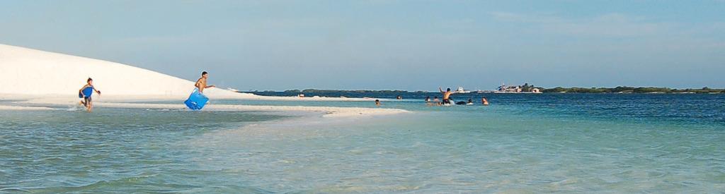 Barcadera sand bank