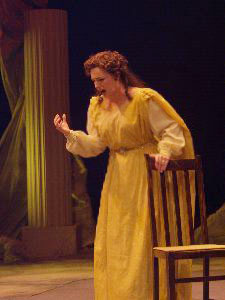 Lucia in Lucia di Lammermoor (photo by Bruce Davis)