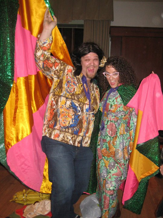 With Evan Ross - Falstaff - Spring 2010