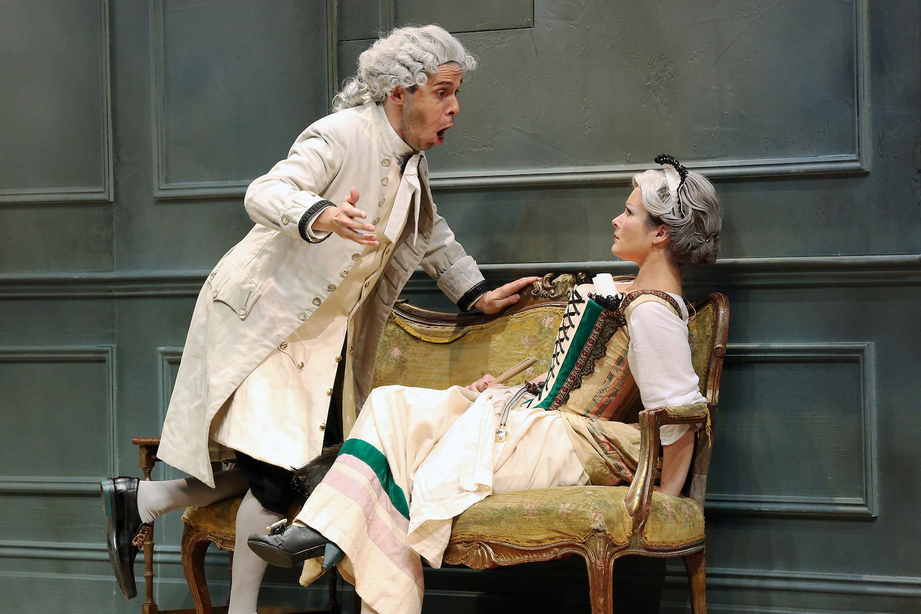 David Greco and Jessica Aszodi in Gretry's L'Amant Jaloux