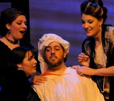 Gianni Schicchi and the Donati women