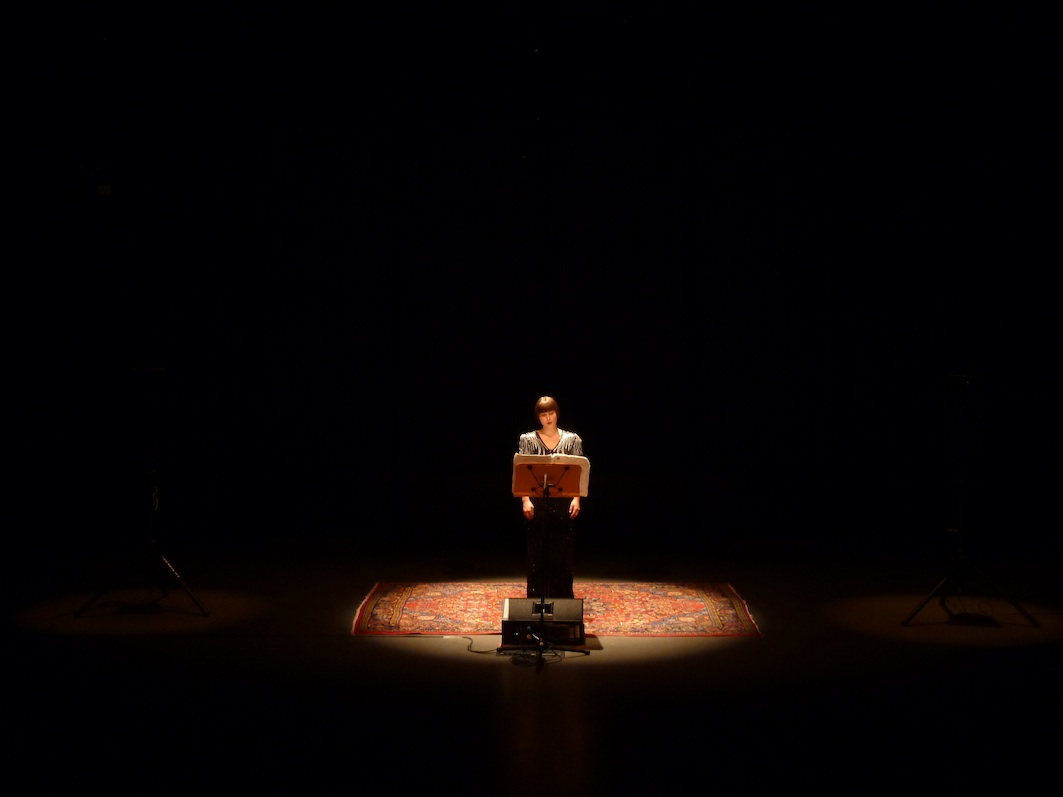 Three Voices by Morton Feldman, San Diego, California, 2012