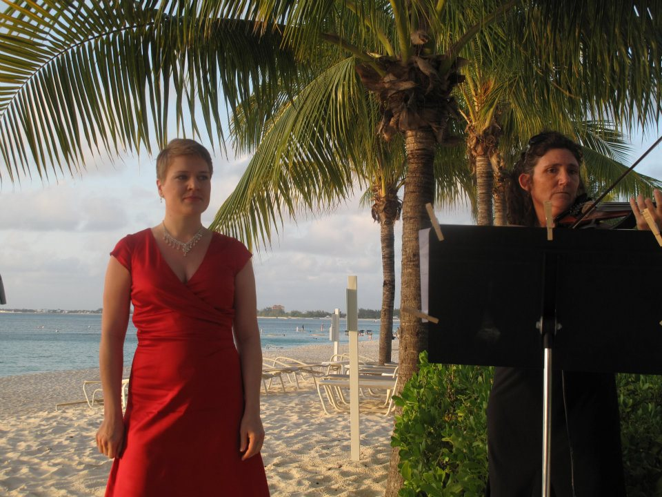 Wedding singer - Cayman Islands - 2011