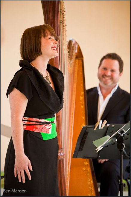 Four winds Festival, Jessica Aszodi and Marshall McGuire recital, Bermagui, 2010