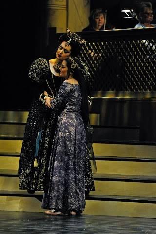 Queen of the Night in The Magic Flute, Opera Saratoga, 2014