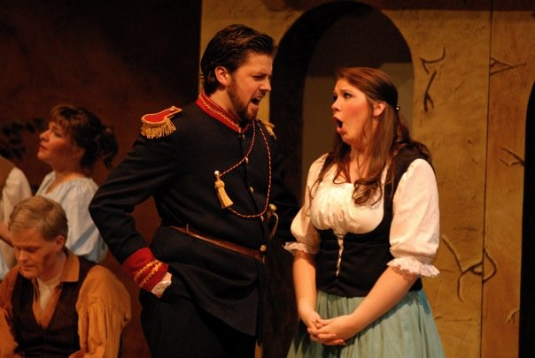 Belcore, L'Elisir d'Amore (with Elizabeth Westwood-Smith as Adina)