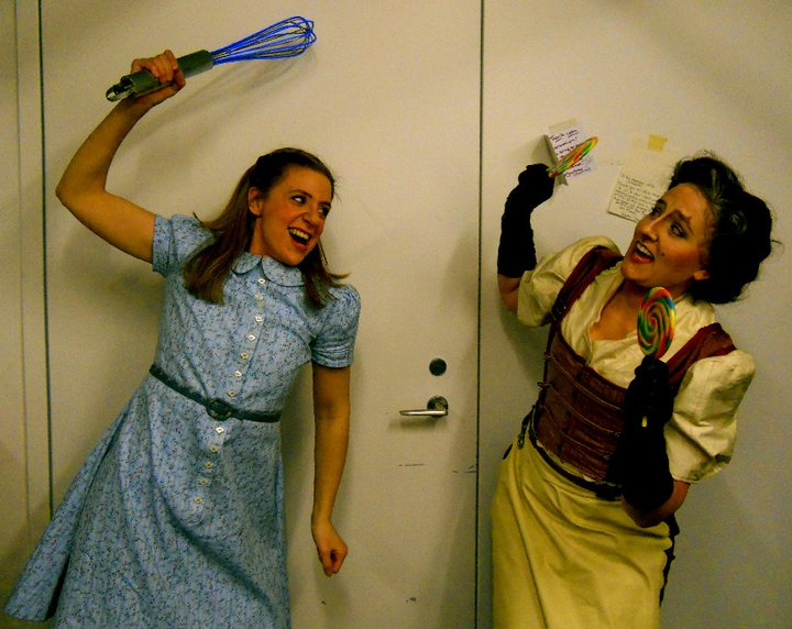 With Audrey Sackett - Hansel and Gretel - Winter 2012