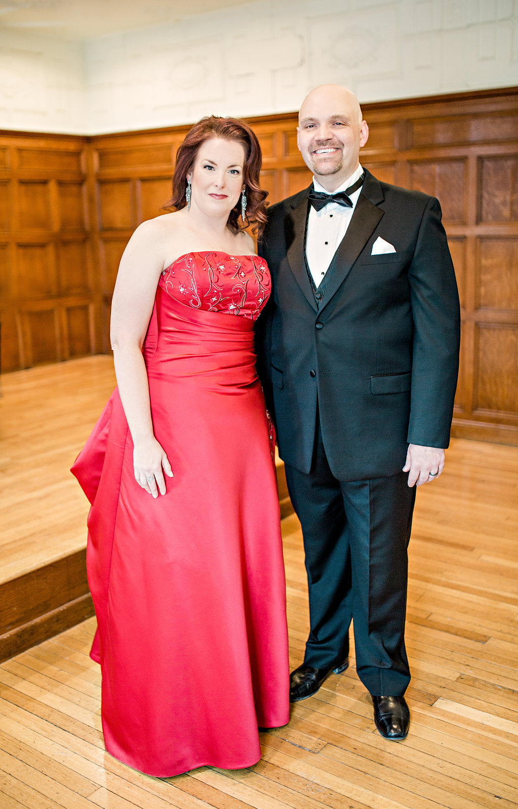 With baritone Jacob Lassetter.  Photo by Jeannie Liautaud.