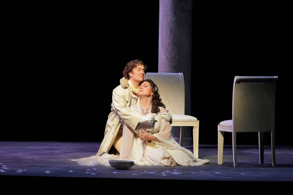 Ilia in Idomeneo, Santa Fe Opera Apprentice Scenes, 2011 (photo by Ken Howard)