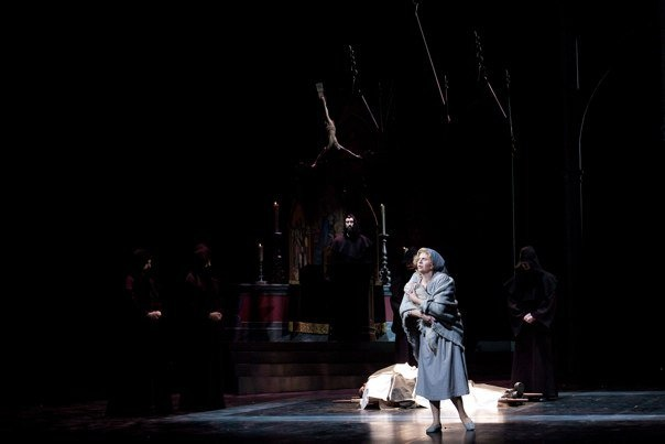 Heather as Marguerite in IU's Production of Faust