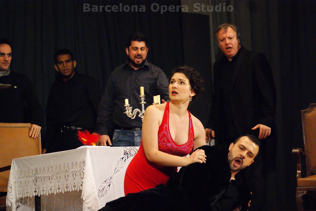 Un Ballo in Maschera 2013, Barcelona