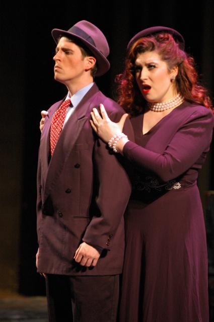 Donna Anna in Don Giovanni, Boston Opera Collaborative, 2008 (photo by J.Justin Bates)
