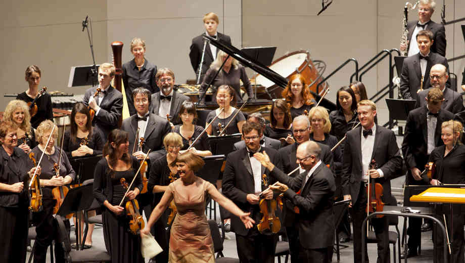 John Cage concert with La Jolla Symphony