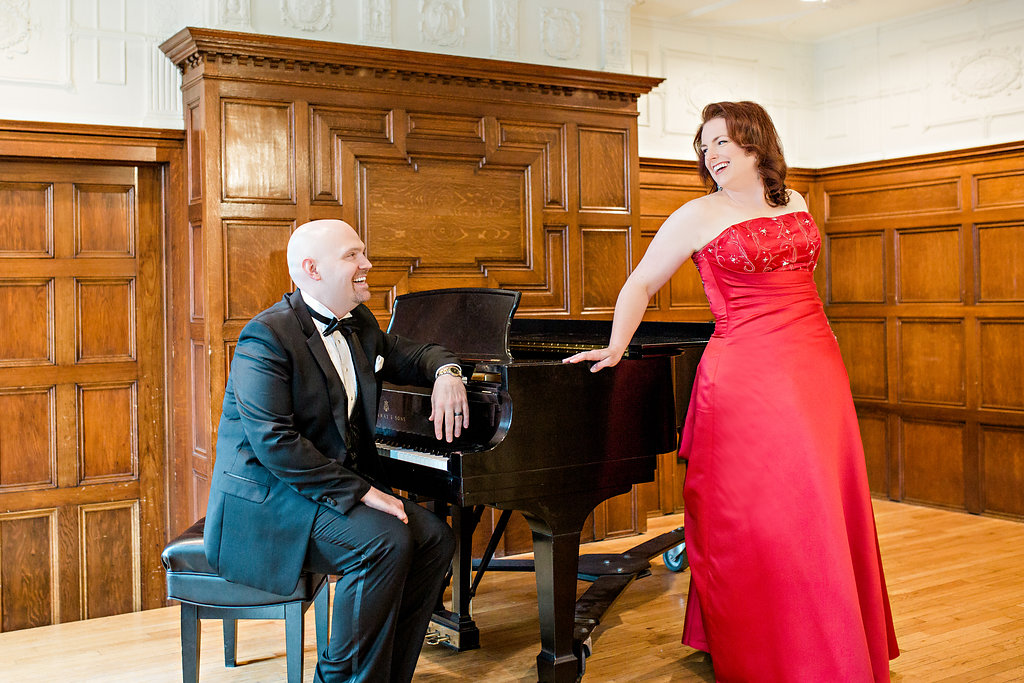 Photo by Jeannie Liautaud (with Karen Kanakis, soprano)
