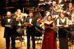 Messiah soloists with Matthew Singer, Tommy Wazelle and Elizabeth Mondragon