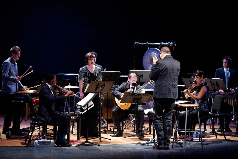 Boulez/Cage Correspondences at Miller Theatre with ICE  (photo copyright Miller Theatre)