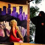 Rapunzel in INTO THE WOODS (Midvale Arts Council)