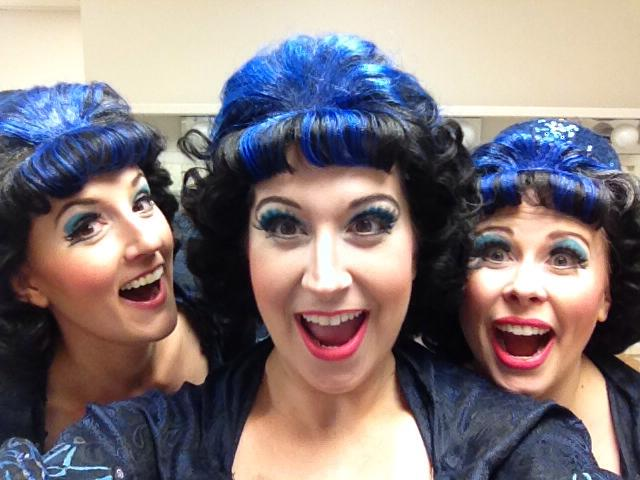 Backstage with the Ladies of Magic Flute - Virginia Opera - Fall 2013