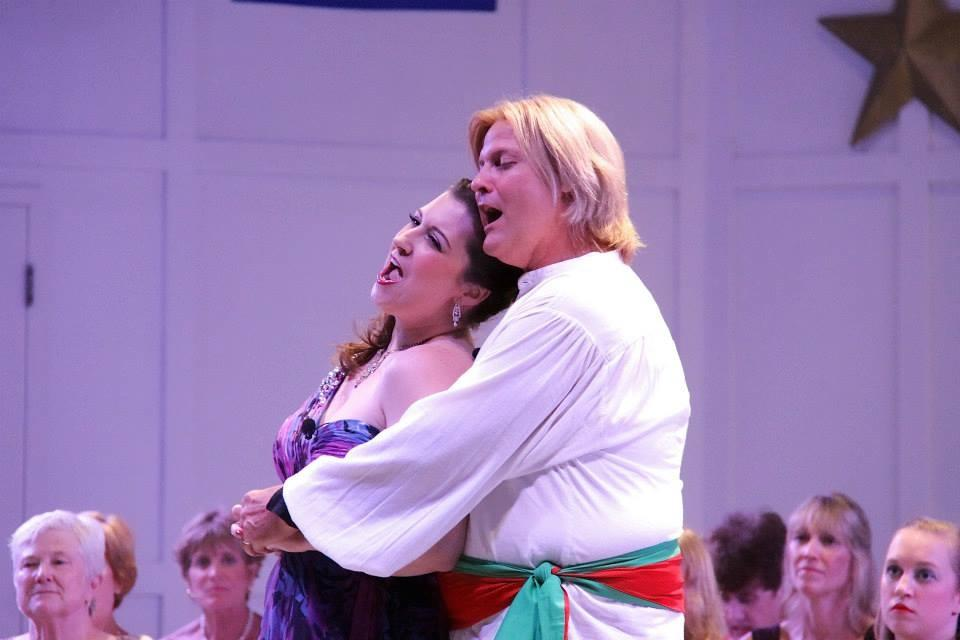 Mabel in The Pirates of Penzance, South Shore Conservatory Evenings Under the Stars, 2013 (photo by Denise Maccaferri)