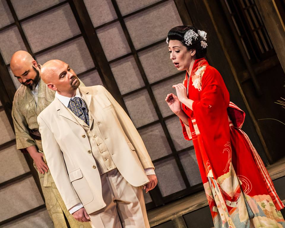 Madama Butterfly at Annapolis Opera (with Eleni Calenos and Anthony Webb)