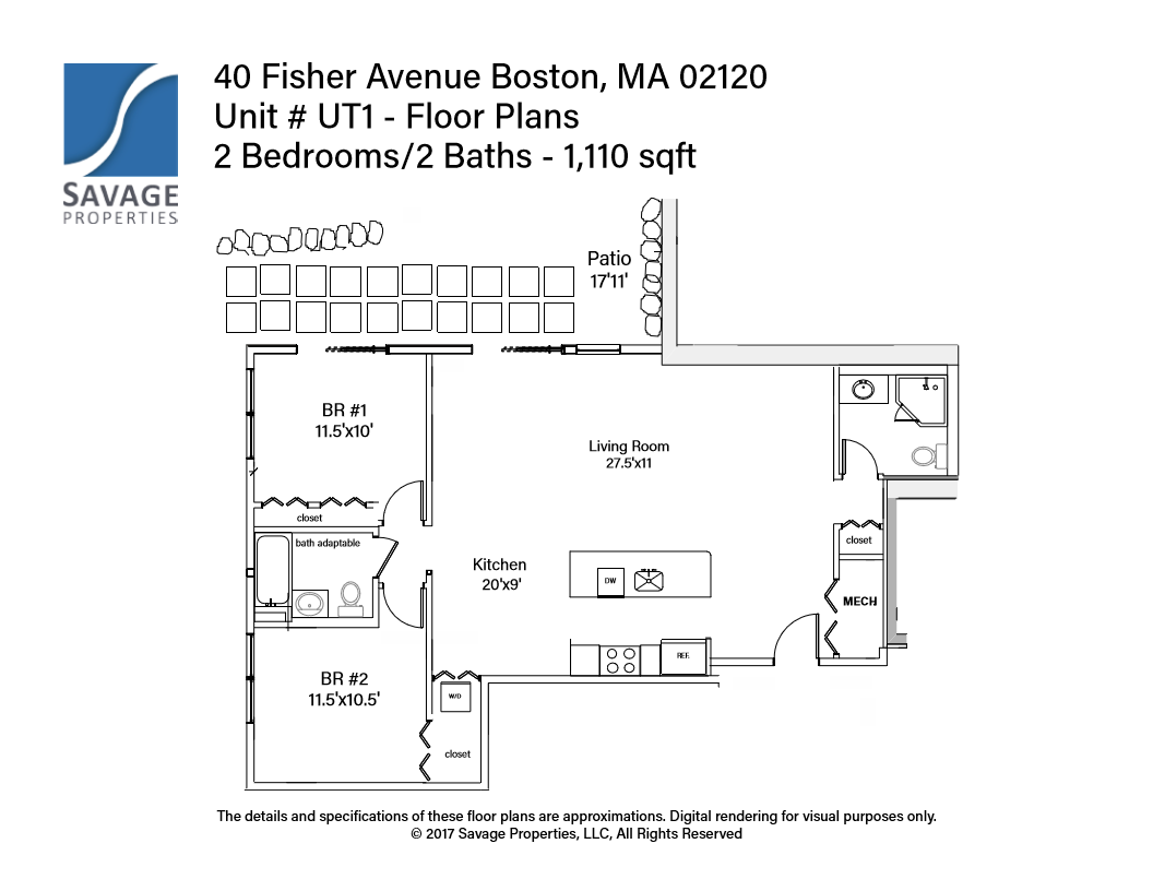 Additional photo for property listing at 40 Fisher Ave. 40 Fisher Ave. Boston, Massachusetts 02120 États-Unis