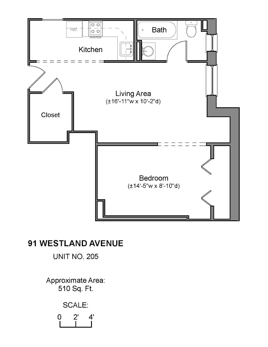 1 Bd on , Concierge, Laundry in Building, Elevator