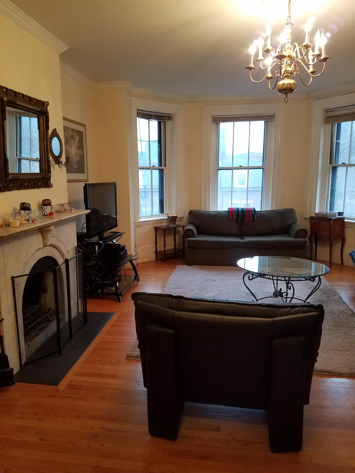 Luxury 1 Bed FURNISHED on Hancock St, Beacon Hill Ma. Near MGH