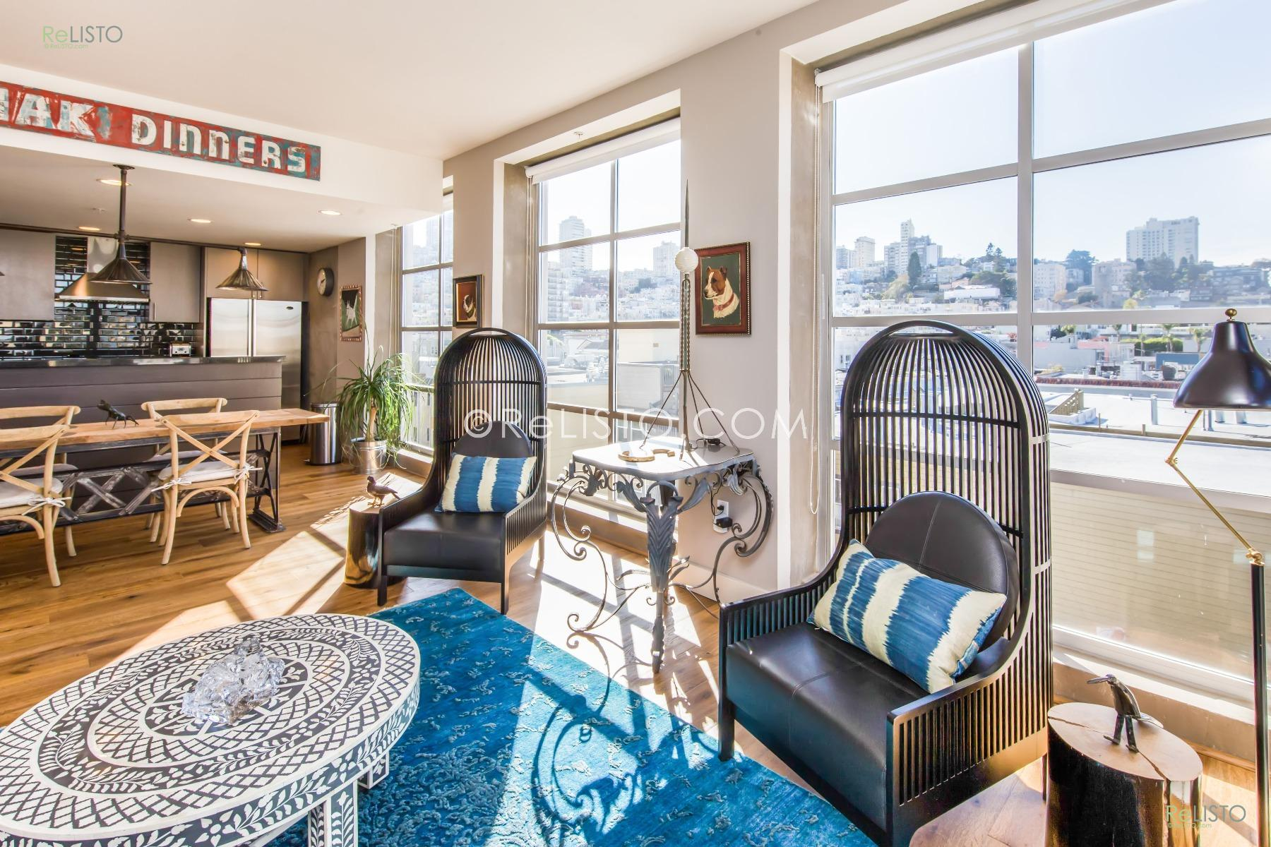 North Beach   2 Bed 2 Bath   Office   Laundry   Parking  