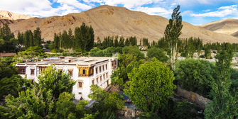 Our hotel in Ladakh