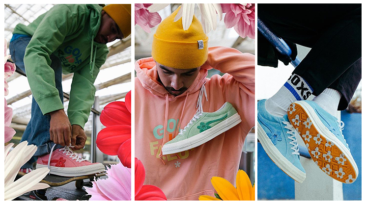 4fba6ed7865d Here s how people are wearing the GOLF le FLEUR Converse One Star ...