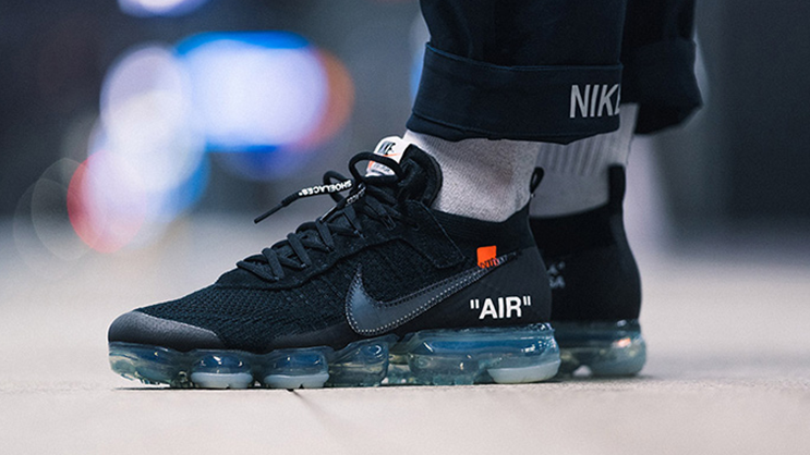 The Off White X Nike Air Vapormax Black Drops This Weekend