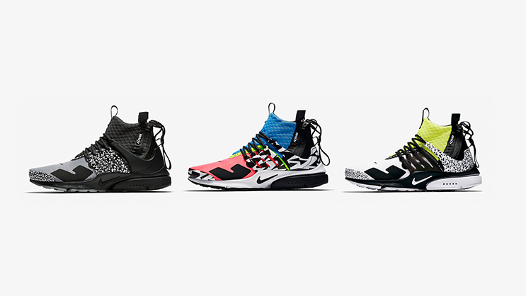 cdeae66d7979 Another chance to cop the Nike Air Presto Mid x ACRONYM ® 2018 Pack ...