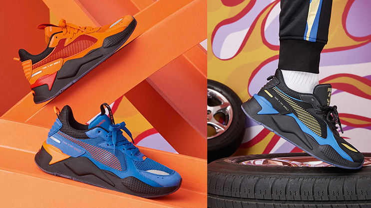 48f7ddc2bba This flaming PUMA and Hot Wheels RS-X Pack drops this weekend ...