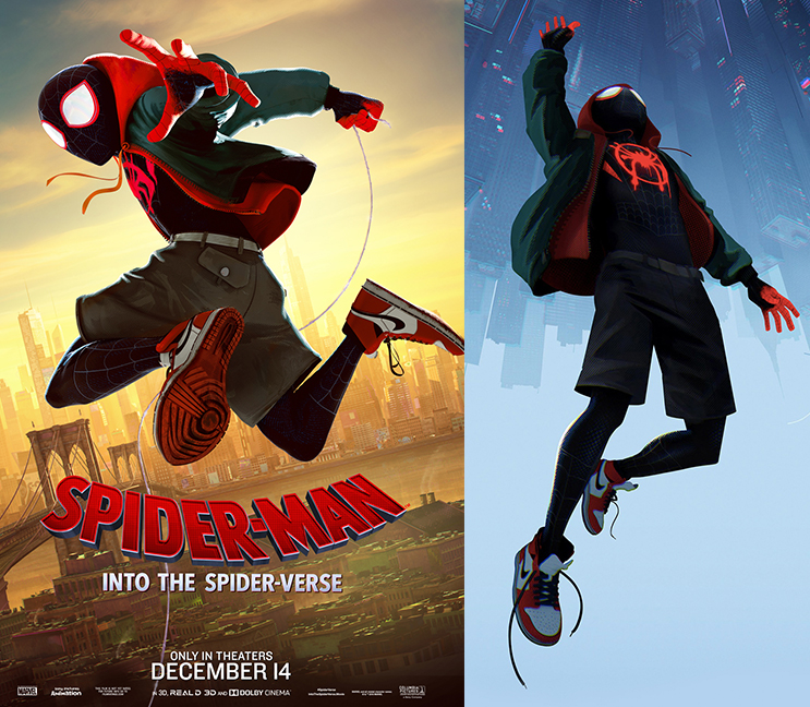 "3bebfb075023 ... the upcoming Sony s Spiderman movie ""Spider-Man  Into the Spider-Verse"