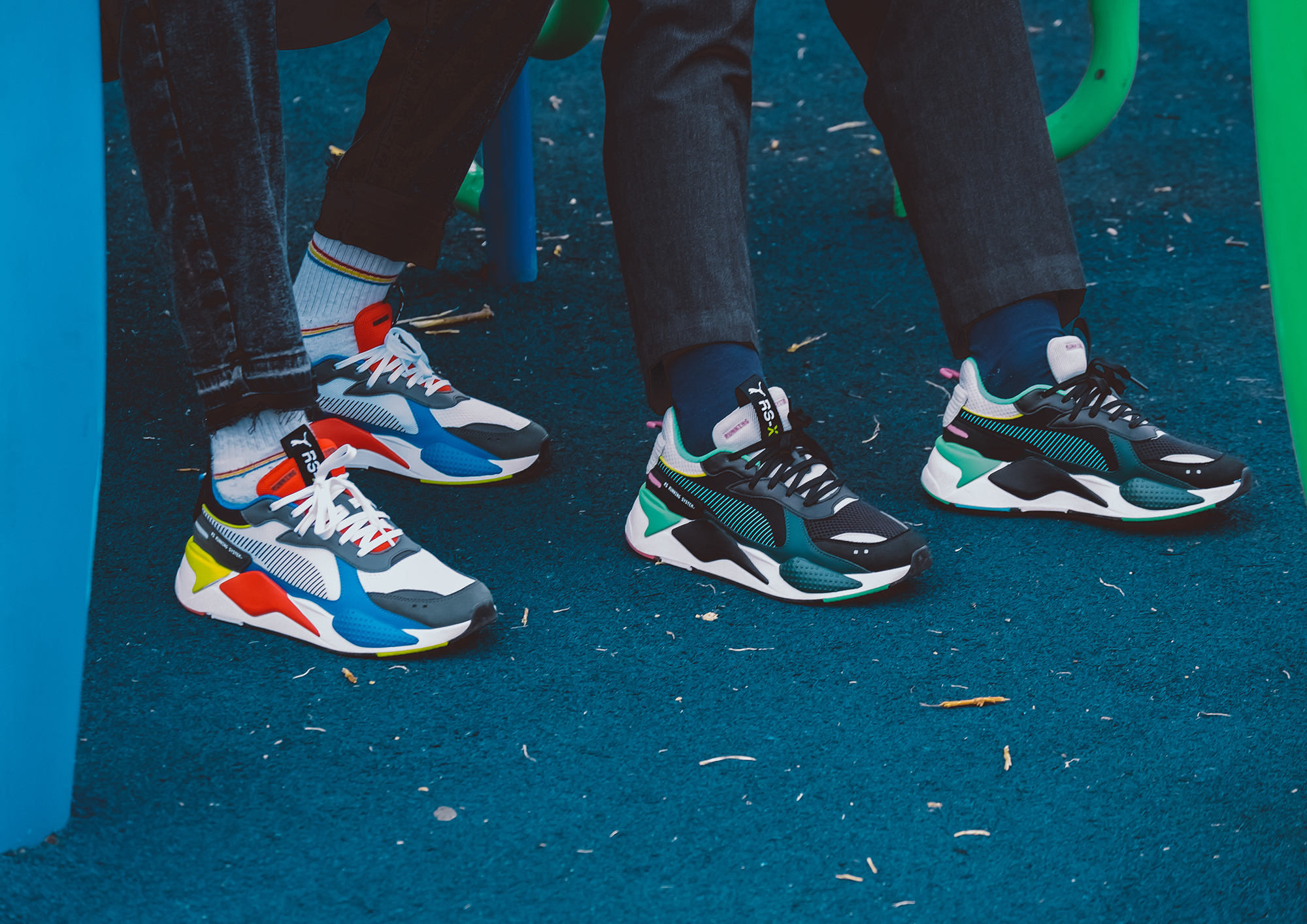 With the RS,X Toys, PUMA is taking us back to the era of iconic toys that  generations grew up with, from playing with them and how they became  collectable