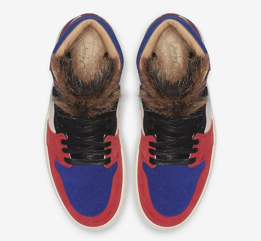 Both shoes are made with premium suede and blocked in colours that take  inspiration from Moore s favourite uniforms throughout her career. 05d0d27bf