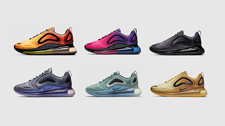 Nike will be releasing a bunch of Air Max 720 colourways from ... 0ee50637c